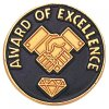 Award of Excellence Lapel Pin Corporate Lapel Pins