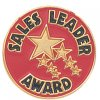 Sales Leader Award Lapel Pin Corporate Lapel Pins