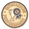 Outstanding Performance Lapel Pin Scolastic Lapel Pin Awards