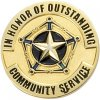 Outstanding Community Service Lapel Pin Scolastic Lapel Pin Awards