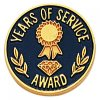 Years of Service Lapel Pin Years of Service Lapel Pins