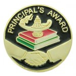 Principai's Award Lapel Pin Academic Trophy Awards