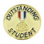 Outstanding Student Lapel Pin Academic Trophy Awards