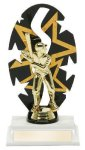 Baseball Male Backdrop Trophy Baseball Trophy Awards