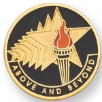 Above and Beyond Lapel Pin Civic Association Lapel Pins