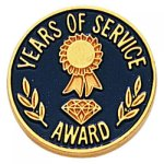 Years of Service Lapel Pin Civic Association Lapel Pins