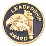 Leadership Award Lapel Pin Civic Association Lapel Pins