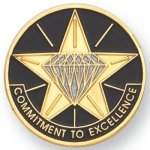 Commitment to Excellence Lapel Pin Corporate Lapel Pins