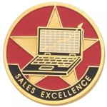 Sales Excellence Lapel Pin Corporate Lapel Pins