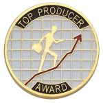 Top Producer Award Lapel Pin Corporate Lapel Pins
