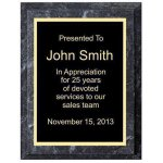 Black Marble Plaque Economy Plaque Awards