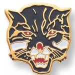 Wildcat Lapel Pin Masccot Lapel Pin Awards