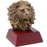 Lion Resin Mascot Resin Trophy Awards