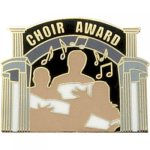 Choir Award Lapel Pin Music, Art, and Drama Lapel Pins