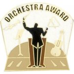 Orchestra Award Lapel Pin Music, Art, and Drama Lapel Pins