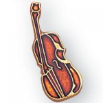 Bass and Cello Lapel Pin Music, Art, and Drama