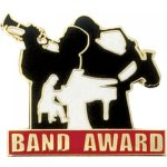 Band Award Lapel Pin Music Lapel Pin Awards