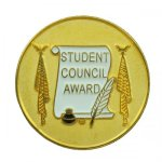 Stdent Council Award Lapel Pin Scholastic Lapel Pins