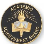 Academc Achievement Award Lapel Pin Scholastic Lapel Pins