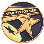 Star Performer Lapel Pin Scholastic Lapel Pins