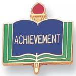 Achievement Lapel Pin Scholastic Subjects
