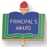 Principal's Award Lapel Pin - Copy Scholastic Subjects