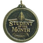Student Of The Month Scholastic Trophy Awards