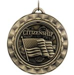Citizenship Spin Scholastic Trophy Awards