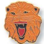 Lion Lapel Pin Scolastic Lapel Pin Awards