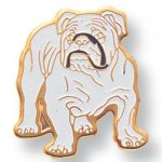 Bulldog Lapel Pin Scolastic Lapel Pin Awards