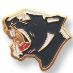 Panther Lapel Pin Scolastic Lapel Pin Awards