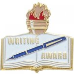 Writing Award Lapel Pin Scolastic Lapel Pin Awards