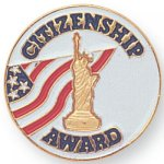 Citizenship Award Lapel Pin Scolastic Lapel Pin Awards