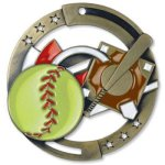Enamel Softball Softball Trophy Awards
