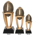 Football Tower Resin Sport Ball Awards - Large