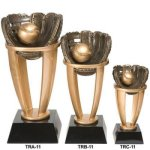 Baseball Tower Resin Sport Ball Awards - Large