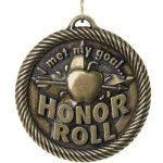Met My Goal Honor Roll VM Medal Awards