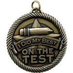 Did My Best On Test VM Medal Awards